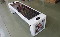 Скамья на солнечных батареях