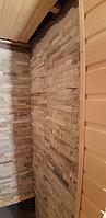 Реконструкция русской бани с дровяной печью. Размер = 2,5 х 1,7 х 2,1 м. Адрес: г. Алматы, Калкаман, мкр-н Шугыла, ул. Сыгай. 25