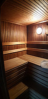 Реконструкция русской бани с дровяной печью. Размер = 2,5 х 1,7 х 2,1 м. Адрес: г. Алматы, Калкаман, мкр-н Шугыла, ул. Сыгай. 29