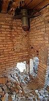 Реконструкция русской бани с дровяной печью. Размер = 2,5 х 1,7 х 2,1 м. Адрес: г. Алматы, Калкаман, мкр-н Шугыла, ул. Сыгай. 32