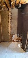 Реконструкция русской бани с дровяной печью. Размер = 2,5 х 1,7 х 2,1 м. Адрес: г. Алматы, Калкаман, мкр-н Шугыла, ул. Сыгай. 35