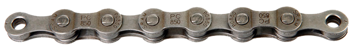 Sram  цепь PC 850 114 links power link silver 8-speed