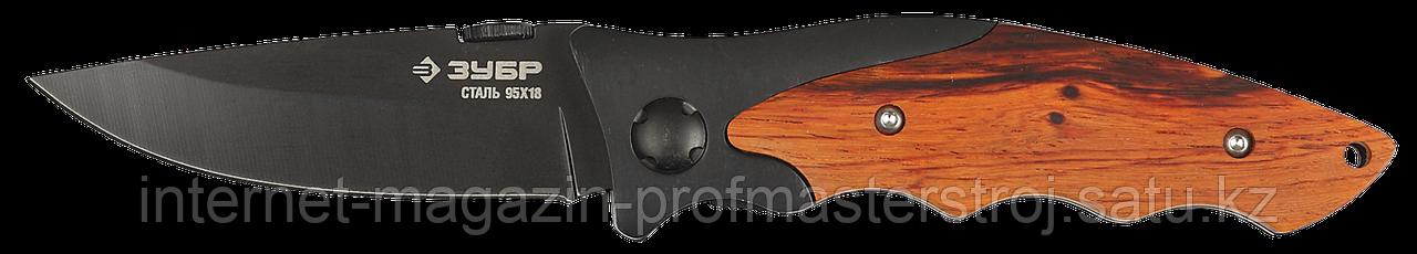 Нож складной 185 мм, серия «ПРЕМИУМ», ЗУБР