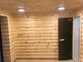Реконструкция комнаты отдыха и помывочной. Адрес: г. Алматы, Калкаман, мкр-н Шугыла, ул. Сыгай.  9