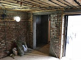 Реконструкция комнаты отдыха и помывочной. Адрес: г. Алматы, Калкаман, мкр-н Шугыла, ул. Сыгай.  25