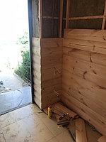 Реконструкция комнаты отдыха и помывочной. Адрес: г. Алматы, Калкаман, мкр-н Шугыла, ул. Сыгай.  32