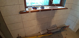 Реконструкция комнаты отдыха и помывочной. Адрес: г. Алматы, Калкаман, мкр-н Шугыла, ул. Сыгай.  40