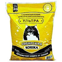 Комкующийся наполнитель Сибирская кошка Ультра 7 л