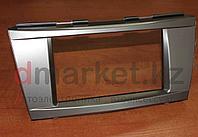 Переходная рамка Toyota Camry 40-45, 2DIN, пластик, серебристый, фото 1