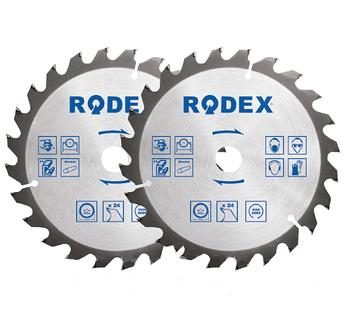Диск по дереву крупный зуб 115ММ*24Т (Rodex)