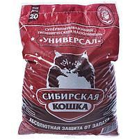 Впитывающий наполнитель Сибирская кошка Комфорт 20л