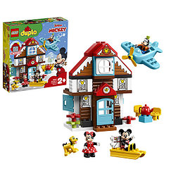 LEGO DUPLO 10889 Конструктор ЛЕГО ДУПЛО Летний домик Микки