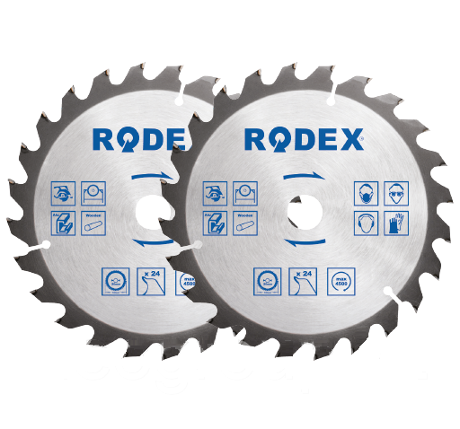 Диск по дереву 125ММ*24Т (Rodex)