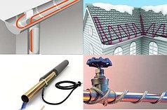 Саморегулирующийся греющий кабель для обогрева крыши, водостоков и желобов (Fine Korea, Enerpia)