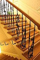 Лестница деревянная под ключ