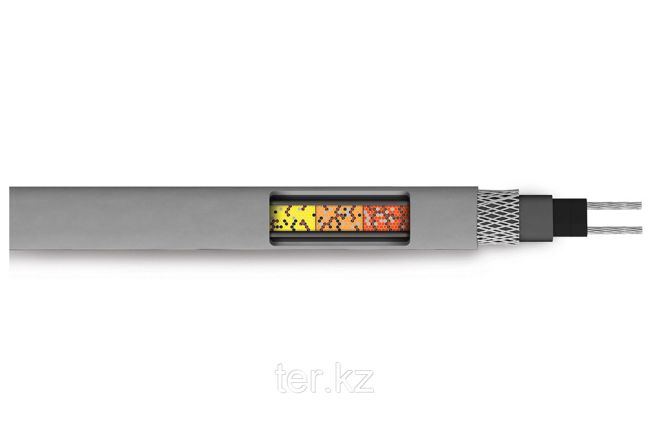 Саморегулируемый нагревательный кабель SRL 16-2CR (экранированный)