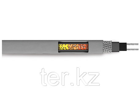 Саморегулируемый нагревательный кабель SRL 16-2CR (экранированный), фото 2