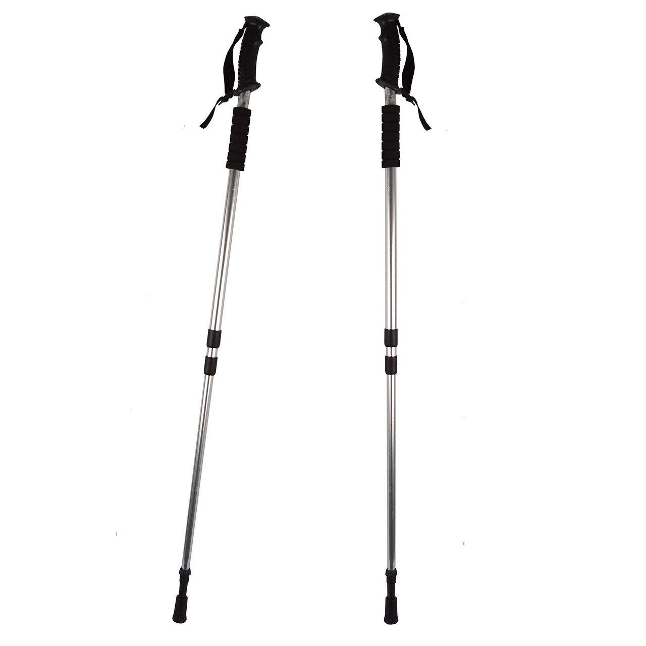 Палки телескопические для скандинавской ходьбы 2 шт