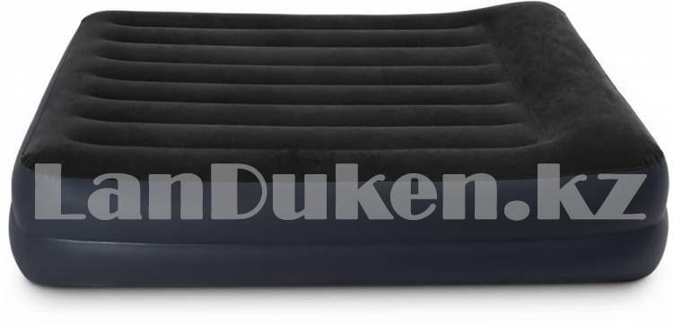 Надувной матрас двуспальный с подушкой Intex 152*203*42 см 64124 - фото 5