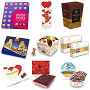 Конфеты подарочные в коробках