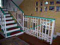 Лестница и перила изготовление