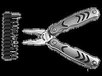Многофункциональный инструмент, 12 предметов в наборе, силовая модель, с битами, серия PROFESSIONAL, STAYER