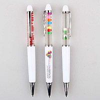 Ручка с жидкостью (с плавающими элементами)
