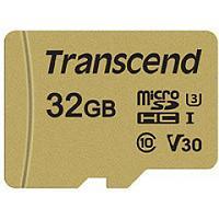 Карта памяти microSD 32Gb Transcend TS32GUSD500S