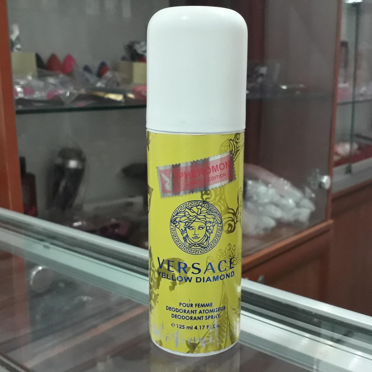 Дезодорант с феромонами Versace Yellow Diamond, 125ml