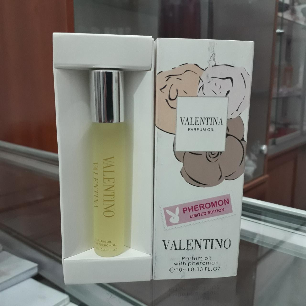"""Духи с феромонами  VALENTINO """"Parfum oil with pheromon"""", 10 ml."""