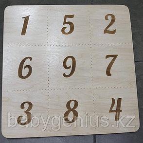 Доска с цифрами, Мишень напольная для балансировочной доски, фото 2