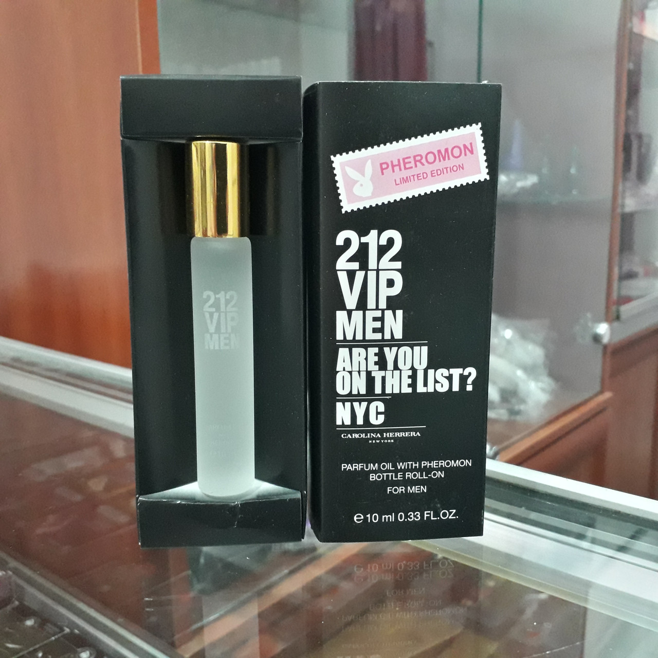 Духи с феромонами Carolina Herrera 212 Vip Men, 10 ml
