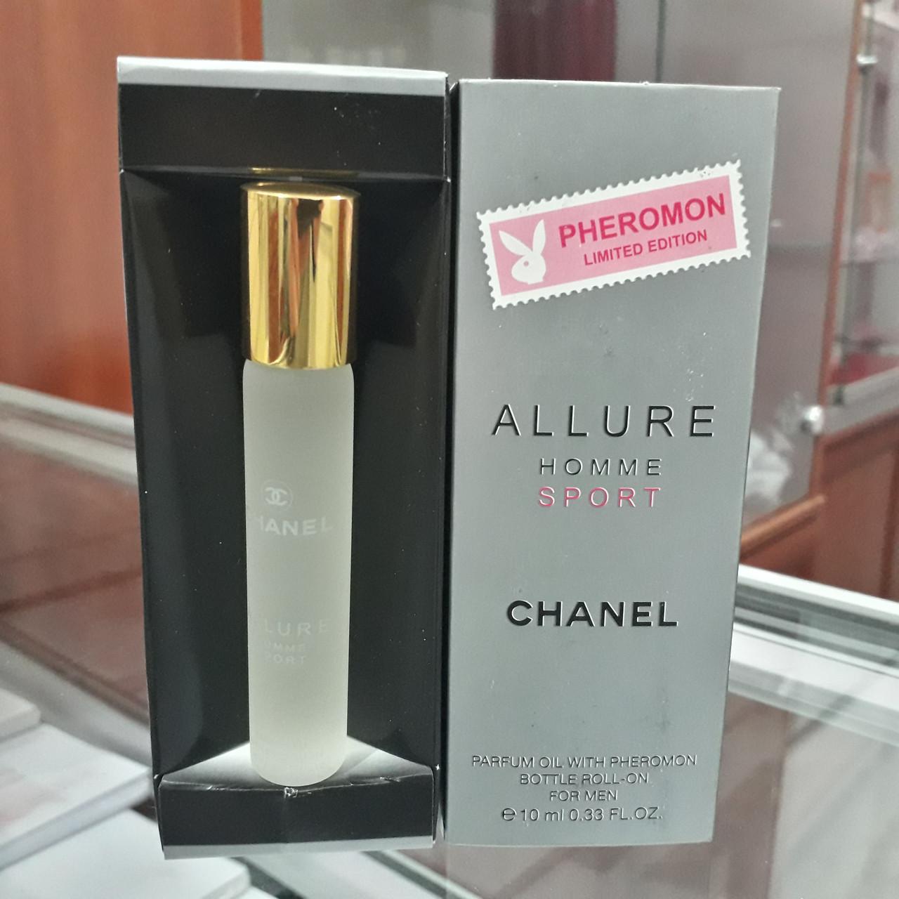 Духи с феромонами   Chanel Allure Homme Sport. 10 ml.