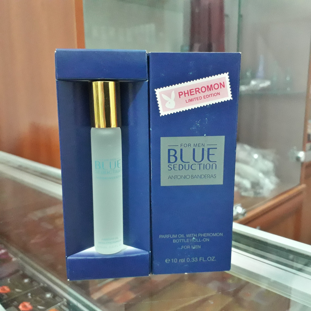 Духи с феромонами ANTONIO BANDERAS BLUE SEDUCTION FOR MEN, 10 ML