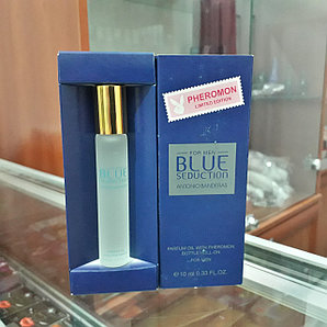 Духи с феромонами ANTONIO BANDERAS BLUE SEDUCTION FOR MEN, 10 ML