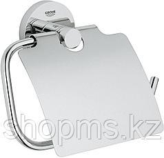 Держатель для туалетной бумаги GROHE Essentials с крышкой, хром (40367001)