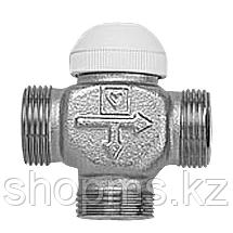 """Клапан трехходовой термостатический HERZ CALIS-TS 1"""" распределительный (арт.1776102)"""