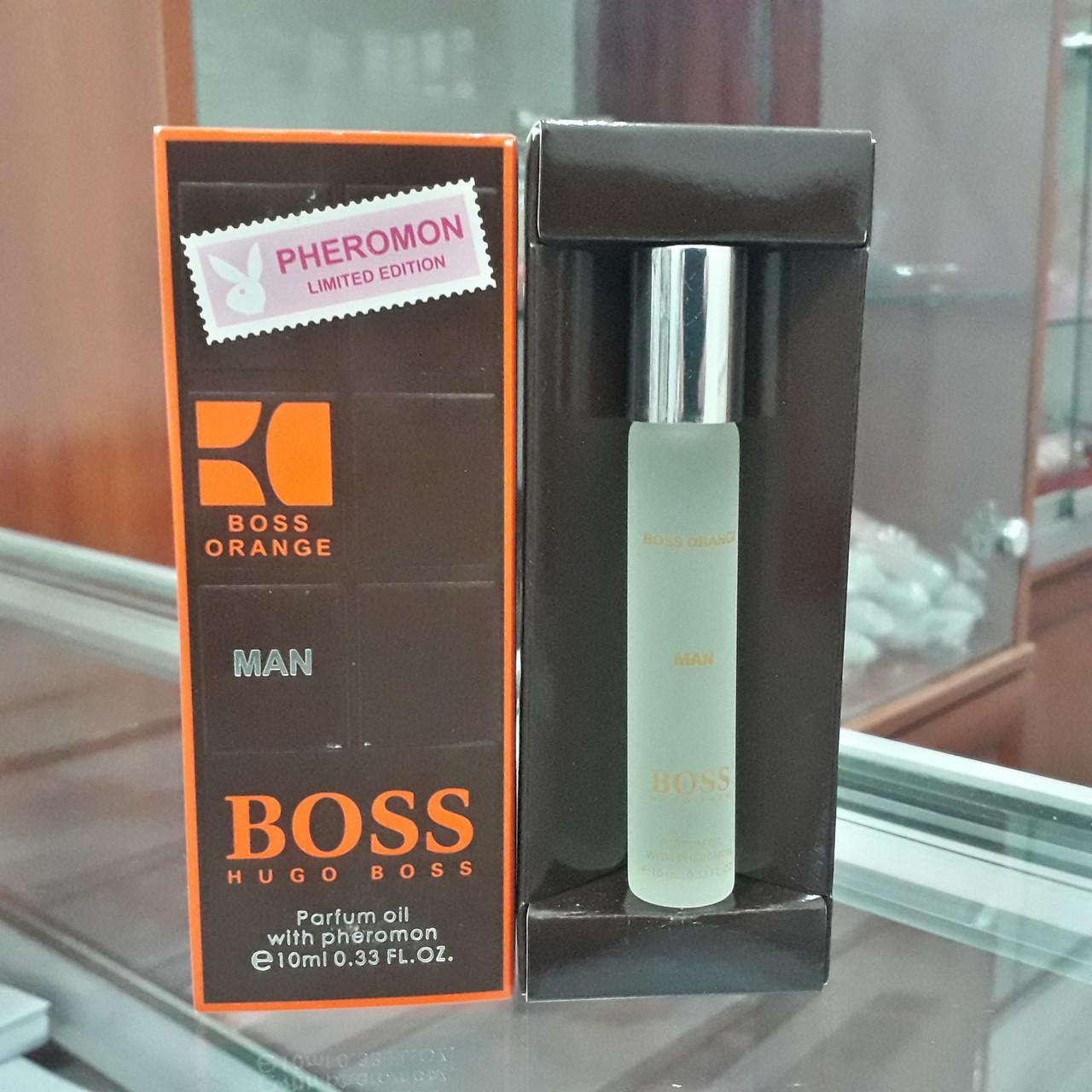 Духи с феромонами Hugo Boss Boss Orange for Men, 10 ml.