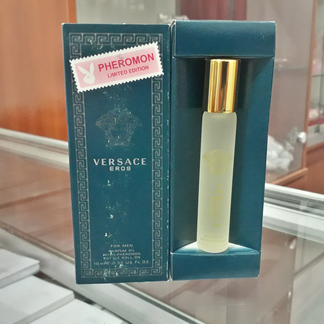 Духи с феромонами Versace Eros, 10 ml.