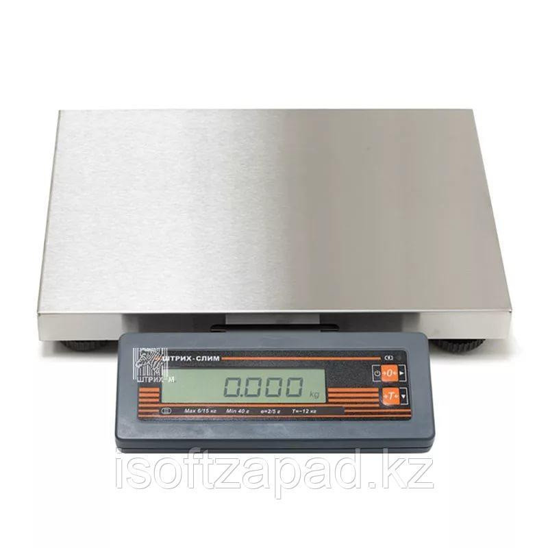 Весы Штрих-СЛИМ 300М 15-2.5 Д1