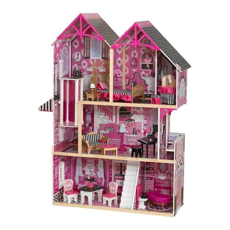 Кукольный домик с мебелью для Барби Kidkraft Белла (65944)