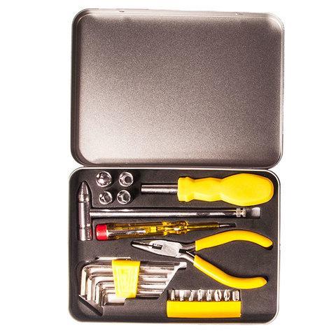 Набор инструментов в железном кейсе [21 предмет] (TM-2054)