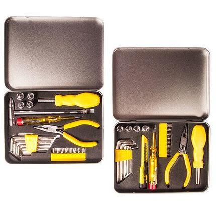 Набор инструментов в железном кейсе [21 предмет] (TM-2054), фото 2