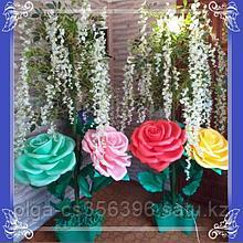 Декоративный стойка. Глициния с розами. Creativ  А - 5