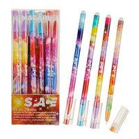 Ручка 'Пиши-стирай' гелевая SPASE, игольчатый пишущий узел 0.5 мм, чернила синие, со стираемыми чернилами,