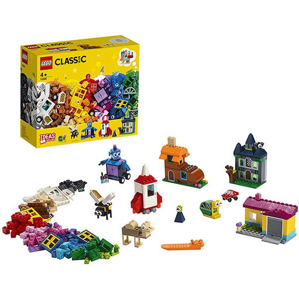 LEGO Classic 11004 Конструктор ЛЕГО Классик Набор для творчества с окнами