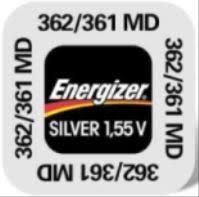 Батарейка Energizer Silver Oxide 362/361