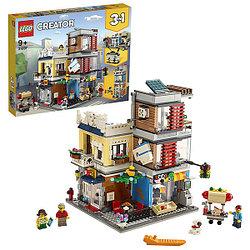LEGO Creator 31097 Конструктор ЛЕГО Криэйтор Зоомагазин и кафе в центре города