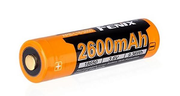 Аккумулятор (Li-ion) FENIX Мод. ARB-L18 18650 (3.6V)(2600mAh)(PCB)