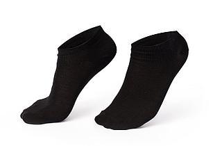 Спортивные мужские носки, черные, короткие